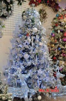 雪花+銀成品樹