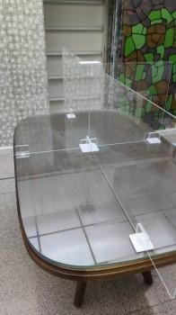 十字型 可拆卸防疫隔板