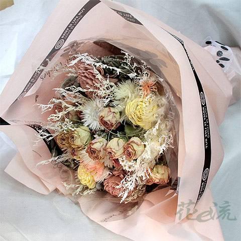 《心意》粉彩乾燥花束