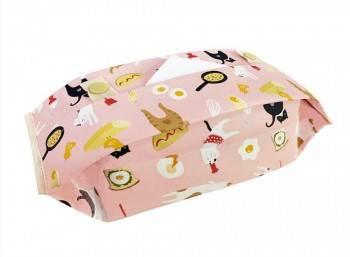【Greenyoyo】貓小姐Ms.Cat|抽取式衛生紙套_蛋蛋的N種吃法(粉)
