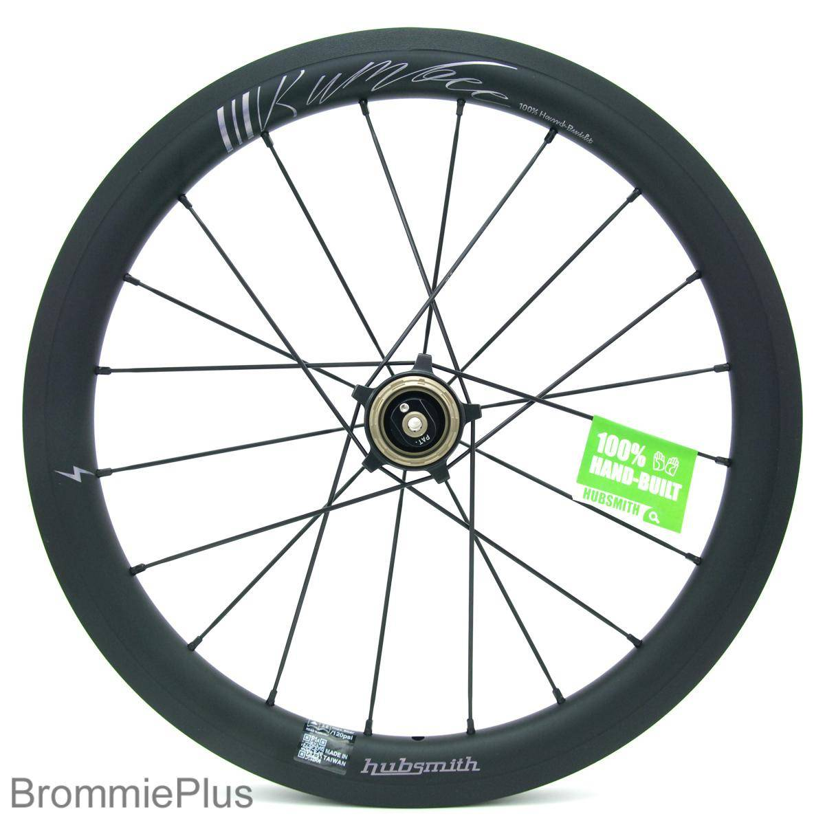 Hubsmith A349 Bumbee 3 Speed wheelset for Brompton - Black