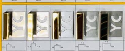 304鍍鈦不鏽鋼 正方型【# 鍍鈦YC-O白鐵色/玫瑰金/鈦黑/金黃色( 鏡面 毛絲面)】磁磚修邊條,浴室,廚房,陽台,窗戶,平台,轉角專用#008.045