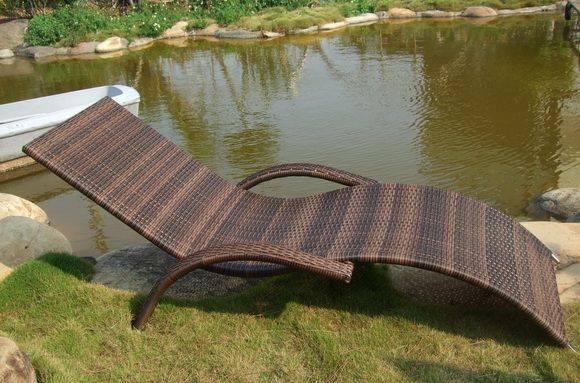 編藤時尚躺椅