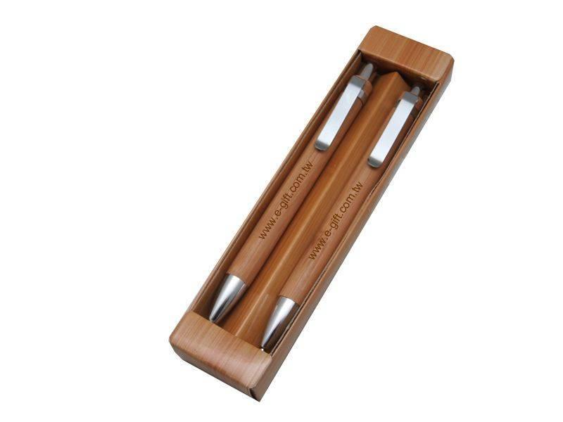 【E-gift】木紋對筆(原子筆+自動鉛筆)