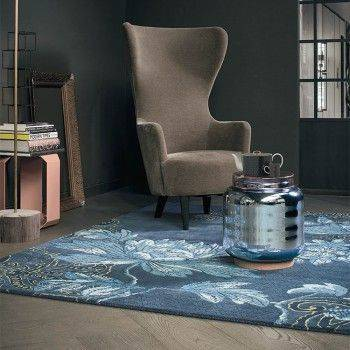 FABLED FLORA(深藍) RUGS