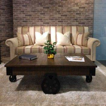 美式經典三人沙發