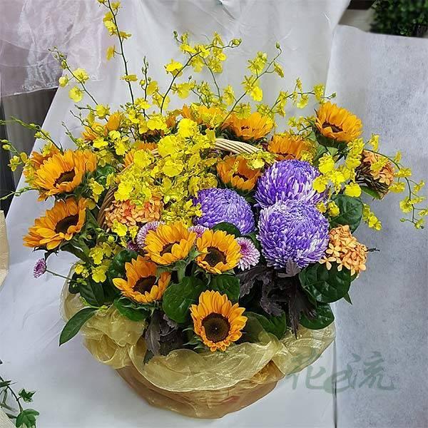 《吉星高照》精緻桌上盆花