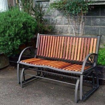 庭園雙人搖搖椅