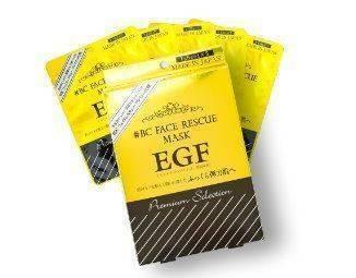 日本#BC EGF 彈力美肌保濕修護面膜 PS  5 片