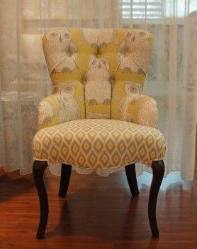 貓頭鷹化妝椅