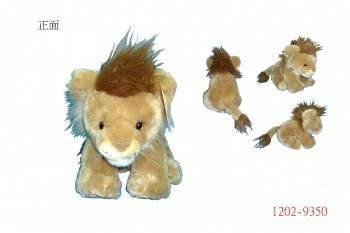 1202-9350小獅子坐姿玩偶#3394-1A
