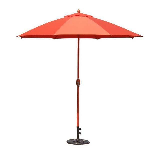 手搖式9尺鋁合金時尚傘
