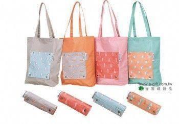 【E-gift】日式摺疊購物袋